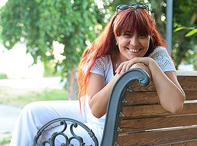 Ukraine bride  Oksana 37 y.o. from Stakhanov, ID 55950