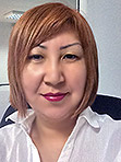 Single Kazakhstan women Gul'mira from Aktobe