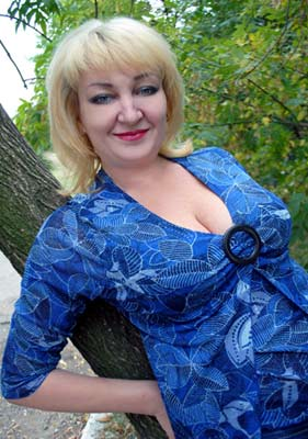 Ukraine bride  Alla 50 y.o. from Mariupol, ID 64960