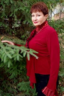 Ukraine bride  Lyudmila 65 y.o. from Poltava, ID 70851